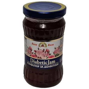 Dżem z płatków róży damasceńskiej dla diabetyków