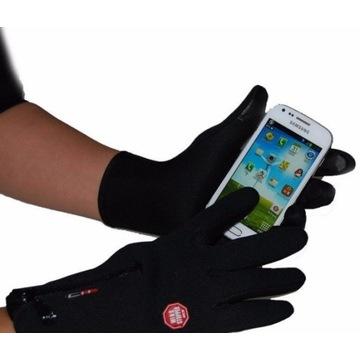 Rękawiczki Rękawice Windstopper Dotykowe LCD