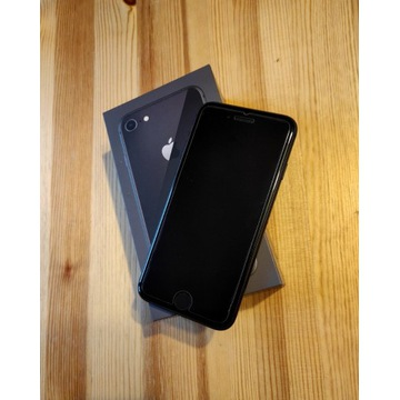 iPhone 8 PL ideał, Ładowarka, 5 CASE, GWARANCJA