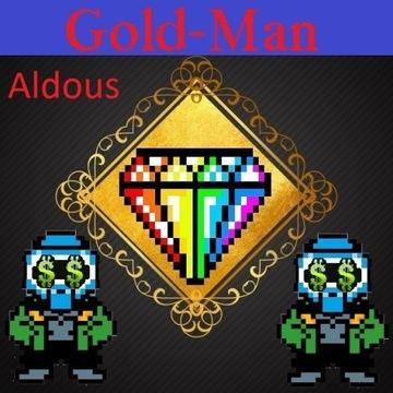 Margonem złoto Aldous 9m PayPal PSC BLIK, Przelew