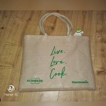 Thermomix VORWERK torba na zakupy Nowa