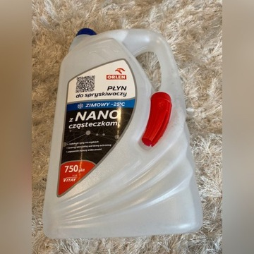 Płyn do spryskiwaczy ORLEN NANO prawie 50% taniej!