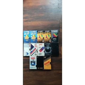 Kasety Video VHS Zestaw IV 13 sztuk