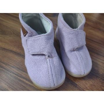 Kapcie slippers family 19/20 liliowe