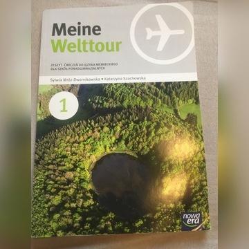 Meine Welttour 1 - ćwiczenia do J. Niemieckiego