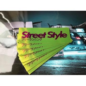 Wlepa drift *Street Style* najlepsza jakość!