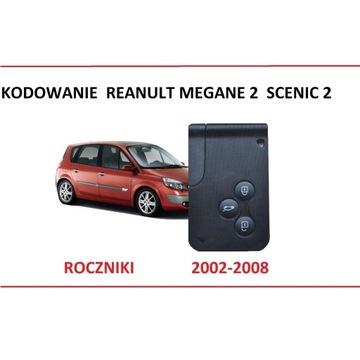 Karta Renault Megane 2 Scenic 2 Laguna kodowanie