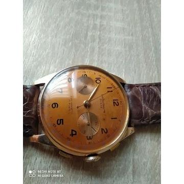 Chronographe Suisse złota koperta 18k