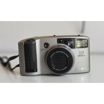 Aparat analogowy Minolta 140 EX