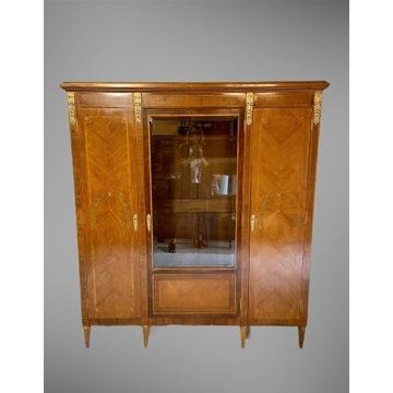 Biblioteka witryna Napoleon III Francja XIX w.