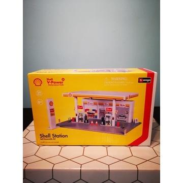 Model stacji Shell Bburago 1:43