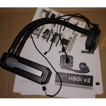 Chłodzenie wodne Corsair Hydro Series H80i V2