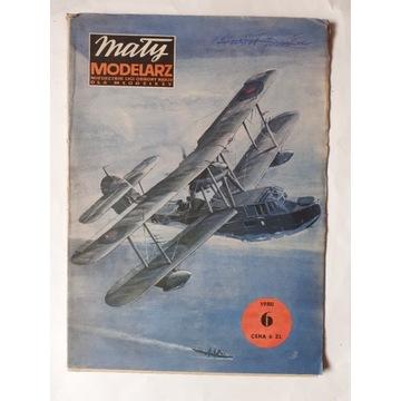 """Mały Modelarz 6 / 1980 """" VALRUS II """" (MORS )"""
