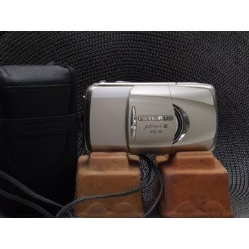 OLYMPUS mju-III WIDE 100  : obiektyw 28mm - 100 mm