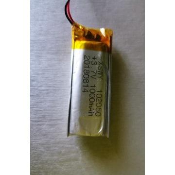 Akumulator Li-po 1000mAh 3.7V