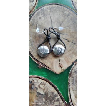 Przepiękne srebrne kolczyki 925