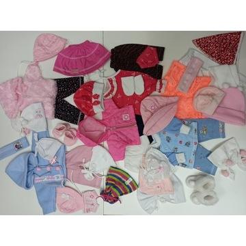 Ubranko zestaw ubranek dla lalki 40 elementów paka