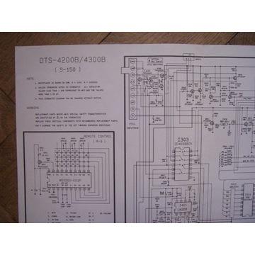 Schemat DTS-4200B/4300B