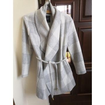 Płaszcz krata mango Zara 34 xs