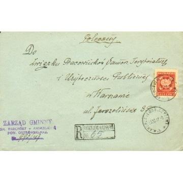 1947 - Ag. Andrzejewo k.Czyżewa - polecony