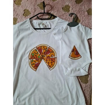 T-shirt & Body Pizza Motive zestaw