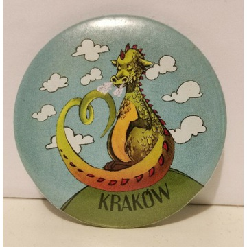 Kraków magnes na lodówkę Smok Wawelski pamiątka