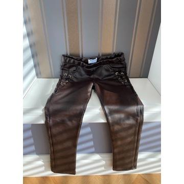 Mayoral spodnie skóra 110 cm 5 lat