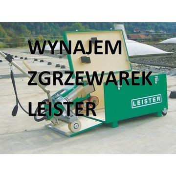 Leister automaty spawalnicze-zgrzewarki do PCV