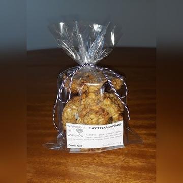 Bezglutenowe ciasteczka owsiane fit