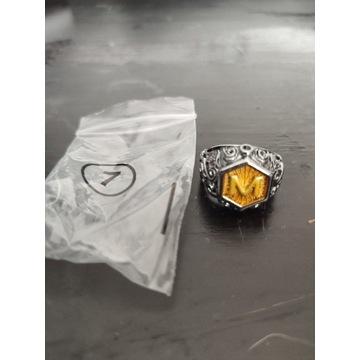 nowy męski sygnet pierścionek rozmiar 7