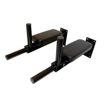 Uchwyty do ćwiczeń: dipy, mięśnie brzucha 2szt.