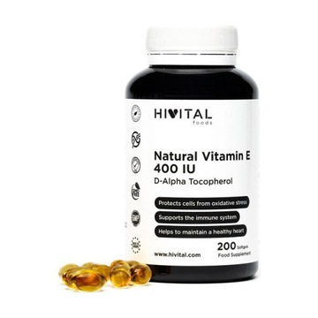 Hivital Witamina E Natural 400 IU 200 sztuk