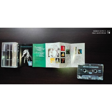 Dead Can Dance MC 1PRESS dark independent new age