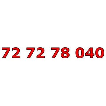 72 72 78 040 ŁATWY ZŁOTY NUMER STARTER
