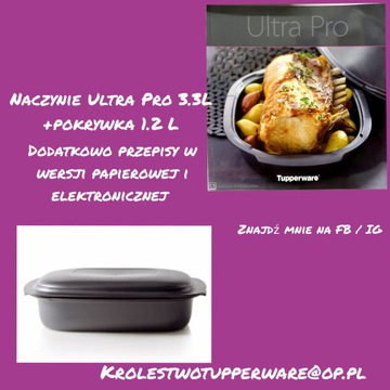 Ultra Pro 3.3L Tupperware +przepisy