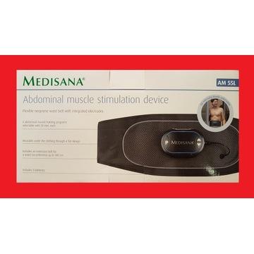 Pas do stymulator mięśni brzucha Medisana AM 55L