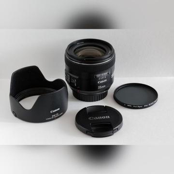 Canon EF 35mm f/2 IS Filtr Polar Hoya Pro - GRATIS