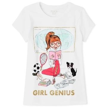 Childrens Place bluzeczka Genius Girl 7-8lat