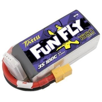Akumulator Tattu Funfly 1550mAh 11,1V 100C 3S1P XT