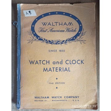 Waltham Watch and clock material
