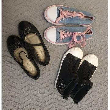 Zestaw butów roz. 32