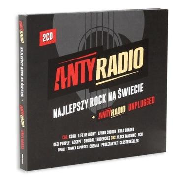 Anty Radio Najlepszy Rock Na Świecie składanka 2CD