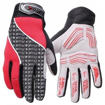 Rękawiczki rowerowe z długimi palcami rozm. XL