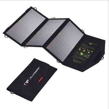 Panel solarny turystyczny 5V 20w 5V20W 2xUSB