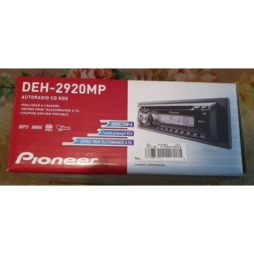 Radio samochodowe Pioneer DEH-2920MP