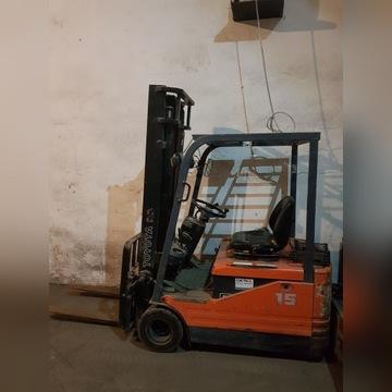 Wózek widłowy toyota elektryczny