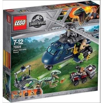 Klocki LEGO Jurrasic World Pościg za śmigłowcem