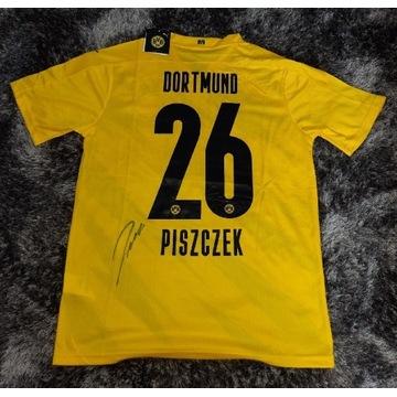 Łukasz Piszczek Borussia - koszulka z autografem.