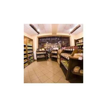 Wyposażenie sklepu spożywczego - regały, sprzęt