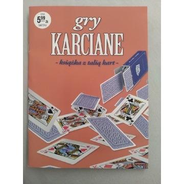 Książeczka gry karciane ( bez talii kart )